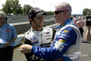 Paul Tracy and Bruno Junqueira