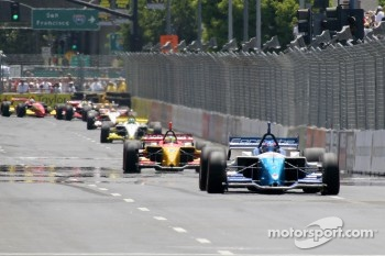 Paul Tracy jumps into the lead