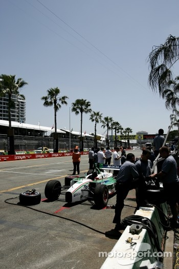 ChampCar pitlane