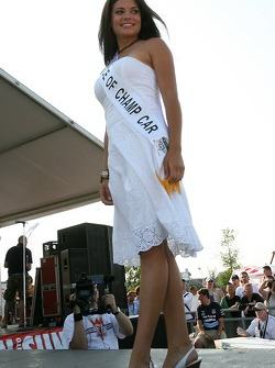 2005 Miss Grand Prix of Toronto winner and Face of Champ Car Brandi Latimer