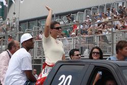 Drivers parade: Katherine Legge