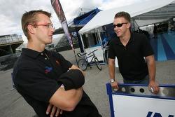 Sébastien Bourdais and A.J. Allmendinger