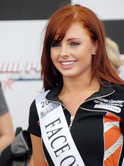 Face of Champ Car Lauren Gardner