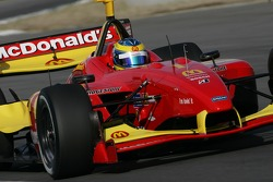 Sébastien Bourdais driving in the Newman Hass Lanigan Racing Panoz DP01