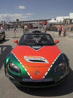 Mazda Miata pace car
