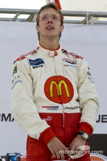 Podium: race winner Sbastien Bourdais
