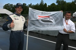 Pole winner Tristan Gommendy celebrates