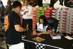 Autograph session for Danica Patrick