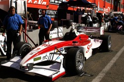 Bruno Junqueira's car (Dale Coyne Racing)