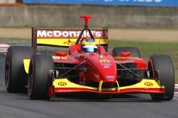 Exiting the circuit hairpin, Sébastien Bourdais