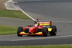 On pace lap: Sébastien Bourdais