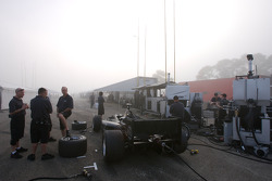 PKV Racing pit area