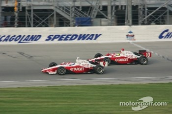 Scott Dixon and Jaques Lazier