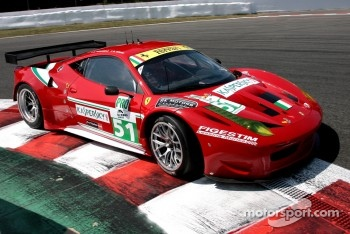 #51 AF Corse Ferrari F458 Italia:Giancarlo Fisichella, Gianmaria Bruni
