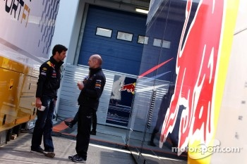 Mark Webber, Red Bull Racing, Adrian Newey, Red Bull Racing, Technical Operations Director
