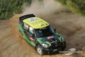 Daniel Oliveira and Carlos Magalhaes, Mini John Cooper Works, MINI WRC Team