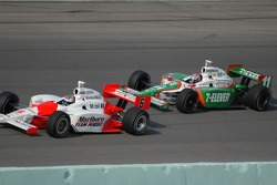 Sam Hornish Jr. and Tony Kanaan
