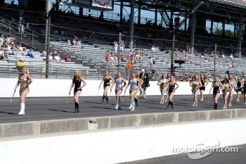 Purdue Marching Band Majorettes