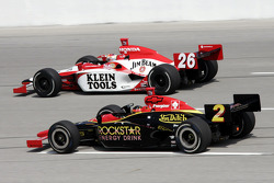 Dan Wheldon and Tomas Enge