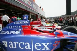 Andretti Green Racing cars