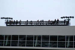 Spotters on their perch