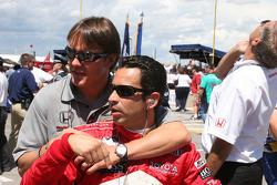 Adrian Fernandez and Helio Castroneves