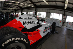 The Penske garage