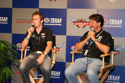 Dan Wheldon and Michael Andretti