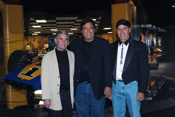 Al Unser, Sr., New Mexico Governor Bill Richardson and Village of Los Ranchos de Albuquerque Mayor Larry Abraham