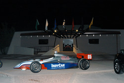 IRL showcar in front of museum for Saturday night