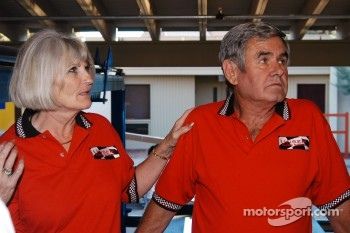 Susan Unser and Al Unser, Sr.