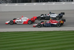 Helio Castroneves, Ed Carpenter and Danica Patrick