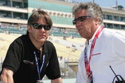 Adrian Fernandez and Mario Andretti