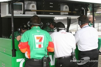Andretti Green engineers are busy at work