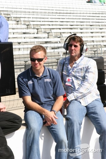 Ed Carpenter and Tony George