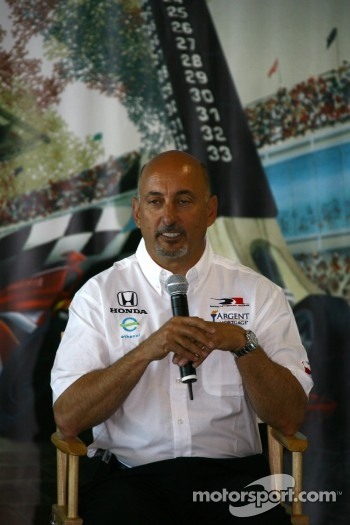 1986 Indianapolis 500 winner and Rahal Letterman Racing co-owner Bobby Rahal