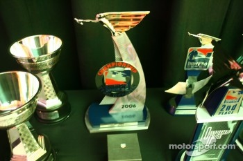 Winners' trophies