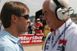 Adrian Fernandez and Roger Penske