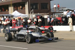 Ed Carpenter on pitlane