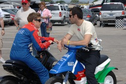 Marco Andretti and Dario Franchitti