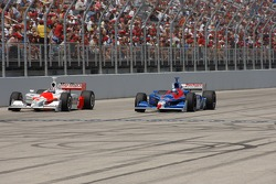 Sam Hornish Jr. and Marco Andretti