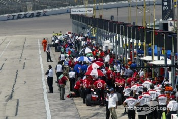 Pit lane