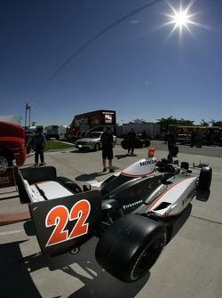Vision Racing car out of technical inspection