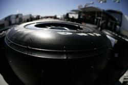 Firestone tire detail