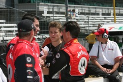 Marco Andretti and Michael Andretti