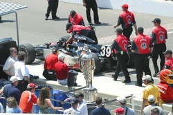 Michael Andretti's car after qualifying
