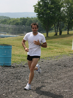 Vitor Meira jogs before Friday practice
