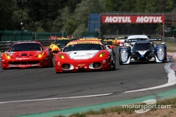 #82 CRS Racing Ferrari F430: Klaas Hummel, Adam Christodoulou, Phil Quaife