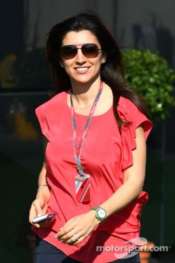 Fabiana Flosi, girlfriend of Bernie Ecclestone