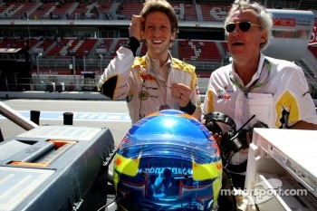 Romain Grosjean, Dams and Jean Paul Driot, Dams owner